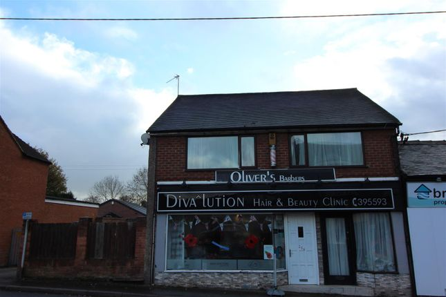 Thumbnail Flat to rent in Uttoxeter Road, Blythe Bridge, Stoke-On-Trent