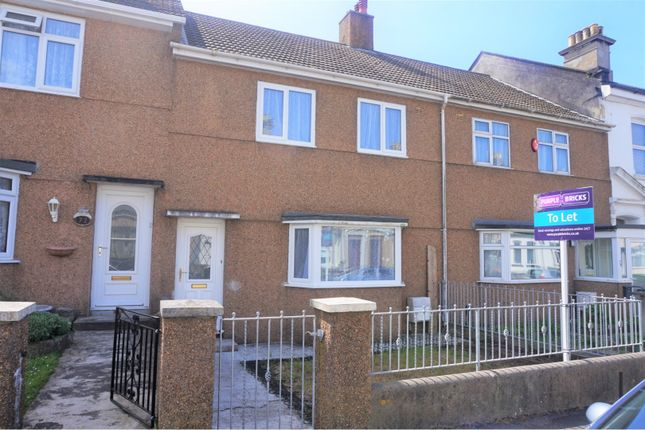 Thumbnail Semi-detached house to rent in Alcester Street, Plymouth