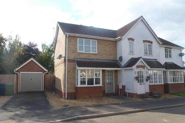Thumbnail End terrace house to rent in Kingfisher Drive, Wisbech