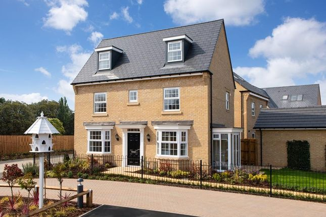 """Thumbnail Detached house for sale in """"Hertford"""" at Great Hall Drive, Bury St. Edmunds"""