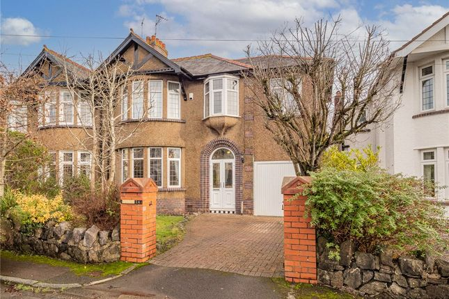 Thumbnail Semi-detached house for sale in Celyn Grove, Cyncoed, Cardiff