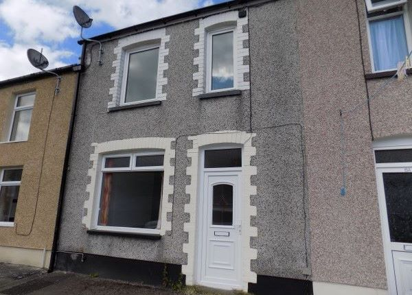Thumbnail Terraced house to rent in Vivian Street, Abertillery