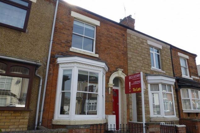 Thumbnail Terraced house to rent in Grosvenor Road, Rugby