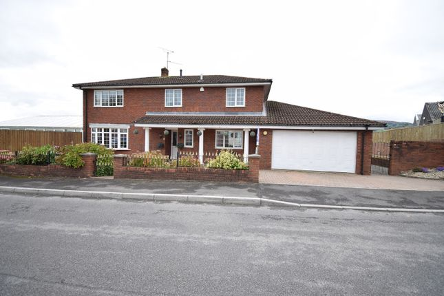 Thumbnail Detached house for sale in Off Woodland Road, Croesyceiliog, Cwmbran
