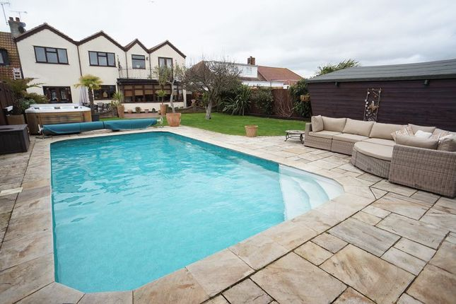 Thumbnail Semi-detached house for sale in Limburg Road, Canvey Island