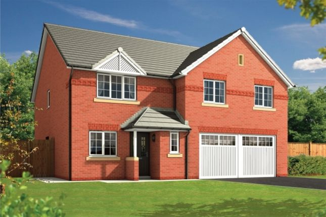 Thumbnail Detached house for sale in Lawton Green, Lawton Road, Alsager, Stoke-On-Trent