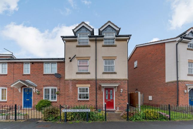 3 bed end terrace house for sale in Williams Avenue, Fradley, Lichfield WS13