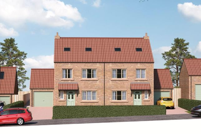 Thumbnail Semi-detached house for sale in Poplar House, Field View, Copt Hewick, Ripon