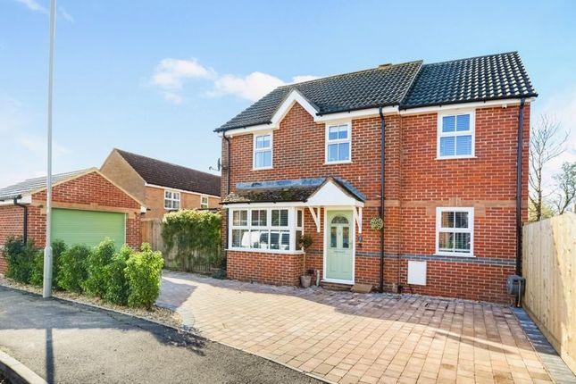 Thumbnail Detached house for sale in Plantagenet Way, Gillingham