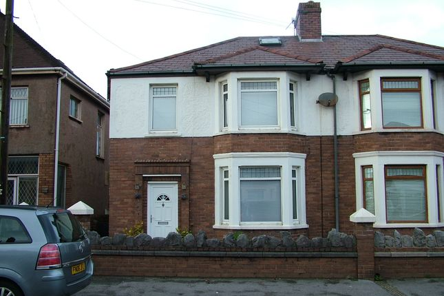 Thumbnail Semi-detached house for sale in Victoria Road, Aberavon