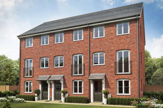 """Thumbnail Terraced house for sale in """"The Greyfriars"""" at Folly Lane, Hockley"""