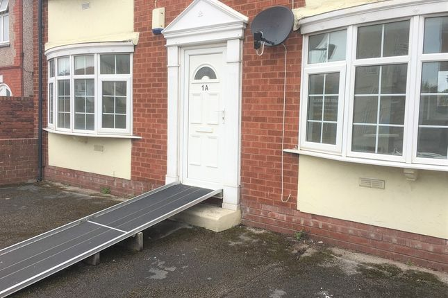 Thumbnail Flat to rent in 1A Seabank Road, Rhyl, Denbighshire