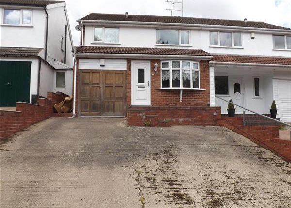 Thumbnail Semi-detached house to rent in Queslett Road, Park Farm Great Barr, Great Barr, Birmingham