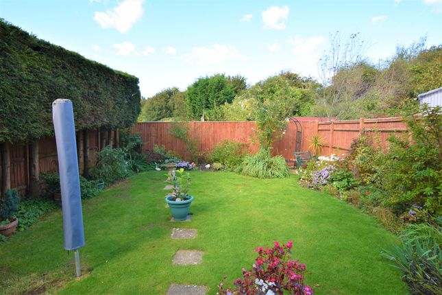 Rear Garden of Hodcombe Close, Eastbourne BN24