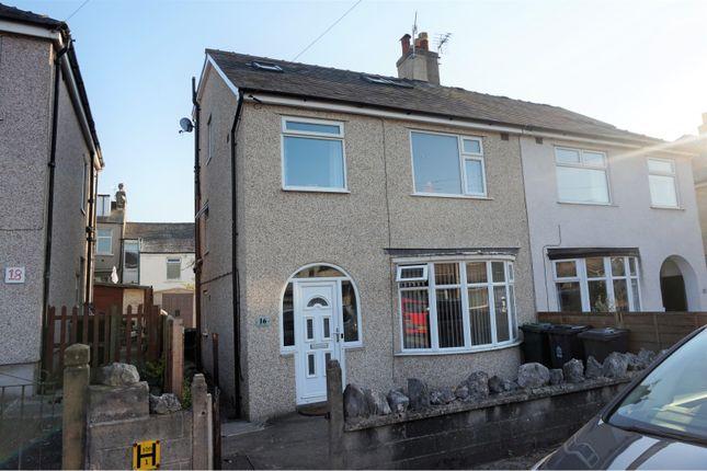 Thumbnail Semi-detached house for sale in Central Avenue, Lancaster