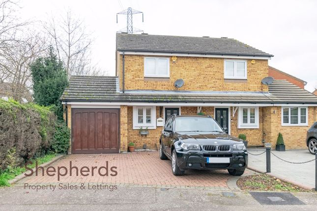 Thumbnail Semi-detached house for sale in Benedictine Gate, Cheshunt, Hertfordshire