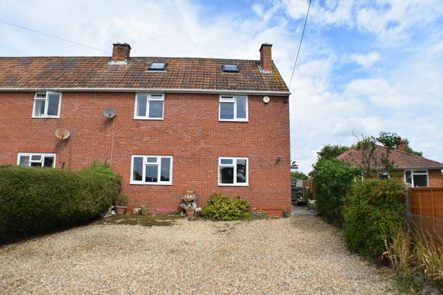 Thumbnail Semi-detached house for sale in Brent Road, Cossington, Bridgwater