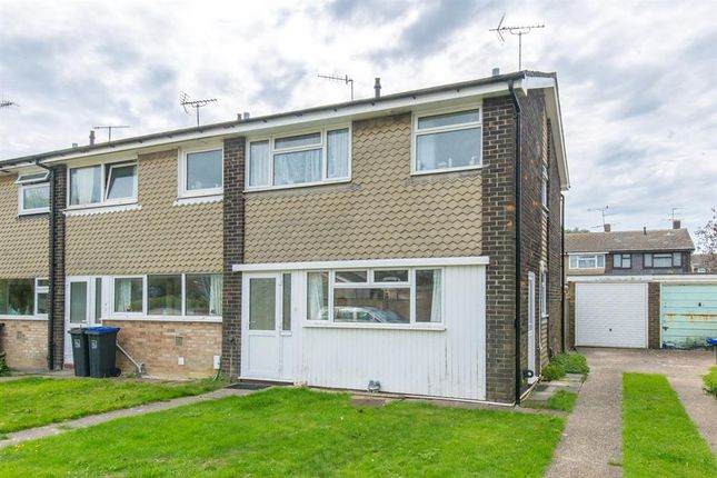 Thumbnail End terrace house for sale in Galsworthy Road, Goring By Sea, West Sussex
