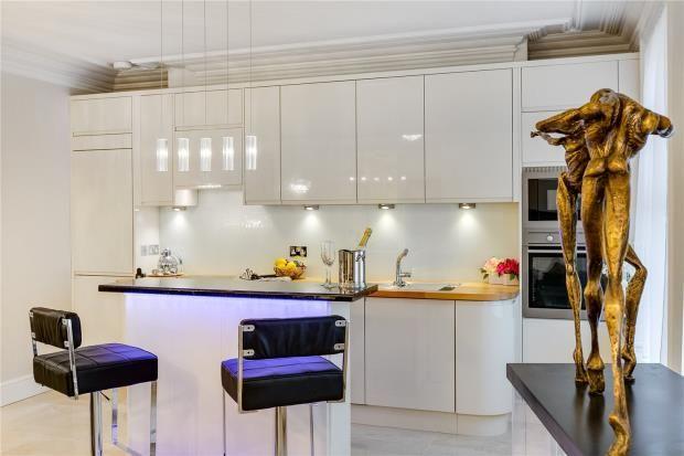 Kitchen of Park Mansions, 141 Knightsbridge, London SW1X