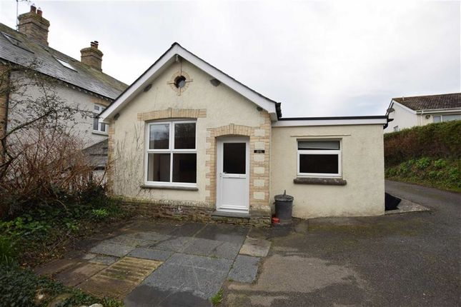 Thumbnail Semi-detached bungalow to rent in Northcott Mouth Road, Poughill, Cornwall