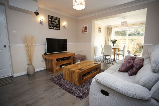 Thumbnail Terraced house for sale in Brent Close, Woodbury, Exeter