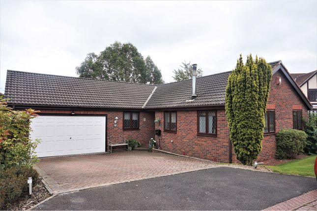 Thumbnail Detached bungalow for sale in Humford Way, Bedlington