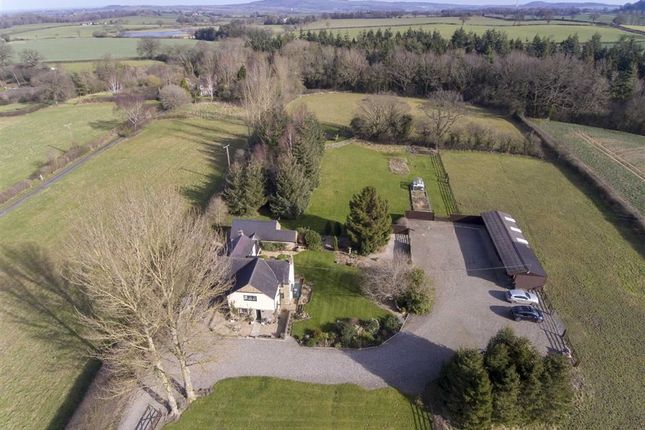 Thumbnail Detached house for sale in Evenwood, Upper Cound, Shrewsbury