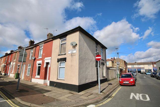 Thumbnail End terrace house to rent in Bettesworth Road, Portsmouth