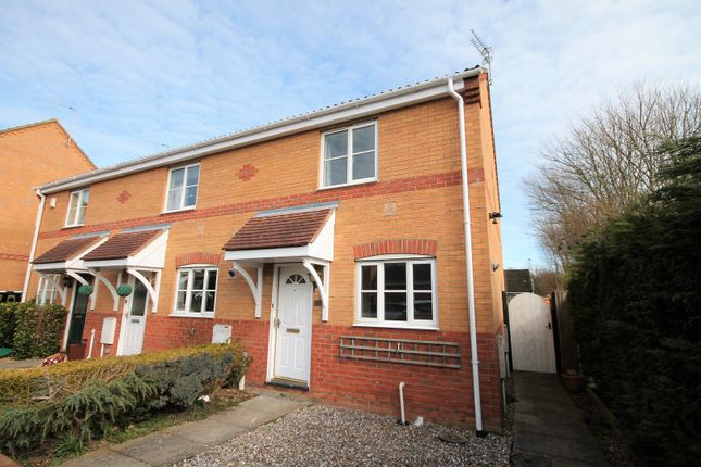 Thumbnail End terrace house to rent in Guscott Close, Lowestoft