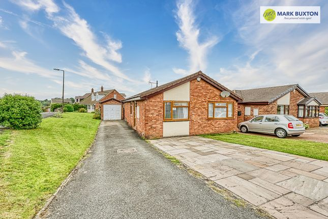 Thumbnail Detached bungalow for sale in Rileys Way, Rileys Way, Bignall End