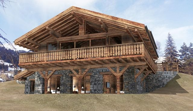 Thumbnail Chalet for sale in Verbier, Verbier, Swiss Alps