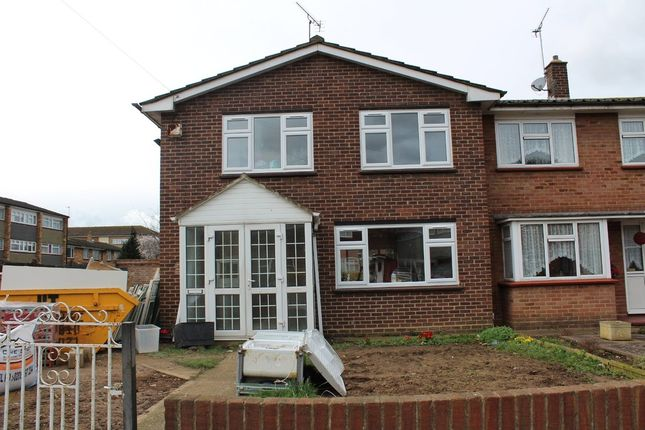 Thumbnail End terrace house to rent in Keats Way, West Drayton