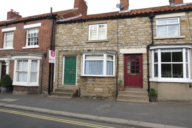 Thumbnail Terraced house to rent in West End, Kirkbymoorside, York
