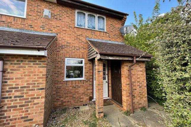 Thumbnail End terrace house to rent in Huntsman Grove, Blakelands, Milton Keynes
