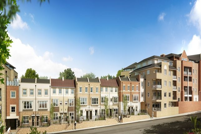 Thumbnail Flat for sale in Flambard Way, Godalming, Surrey