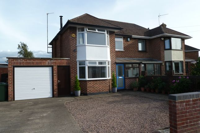 Thumbnail Semi-detached house for sale in Lea Crescent, Gloucester
