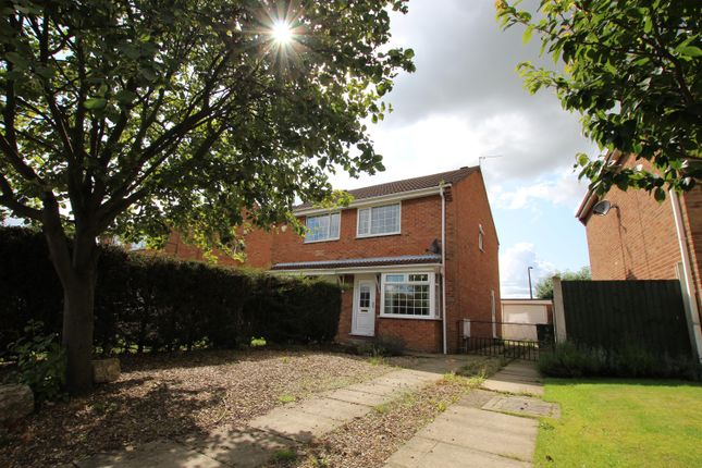 Thumbnail Semi-detached house to rent in Highlands Avenue, Strensall, York