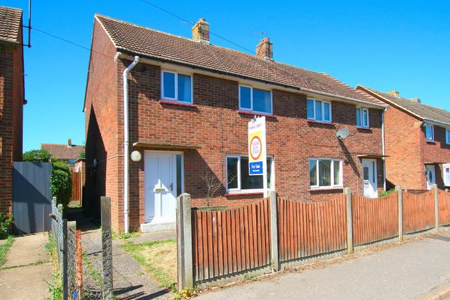 Thumbnail Semi-detached house for sale in Vale View Road, Aylesham, Canterbury