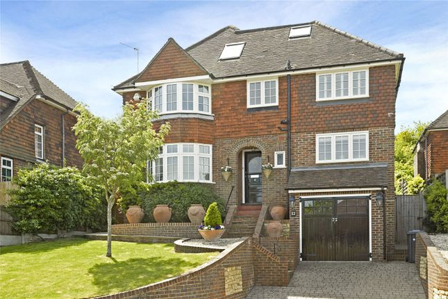 Thumbnail Detached house for sale in Pewley Way, Guildford, Surrey