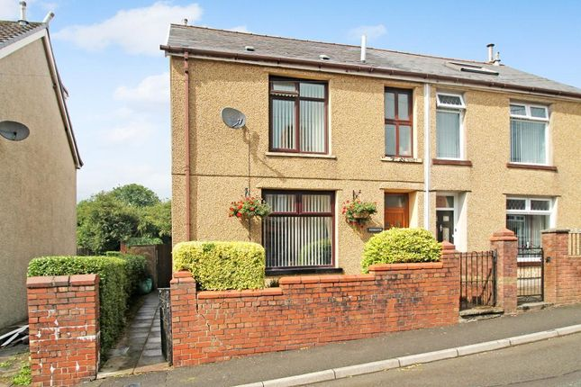 Thumbnail Semi-detached house for sale in Mayfield Terrace, Beaufort, Ebbw Vale, Blaenau Gwent