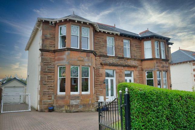 Thumbnail Semi-detached house for sale in Bulloch Avenue, Giffnock, Glasgow