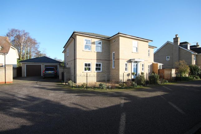 Thumbnail Detached house to rent in Cossington Close, Cottenham, Cambridge