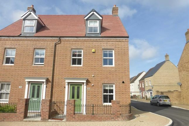 Thumbnail Semi-detached house to rent in Trevello Road, East Wichel, Swindon