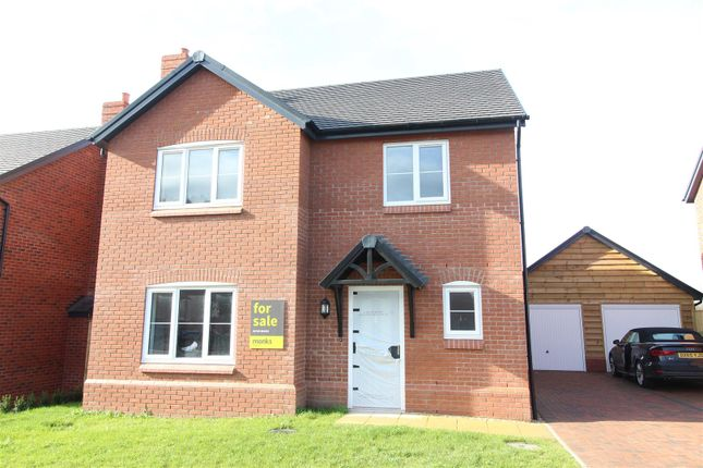 Detached house for sale in Plot 20 Hopton Park, Nesscliffe, Shrewsbury