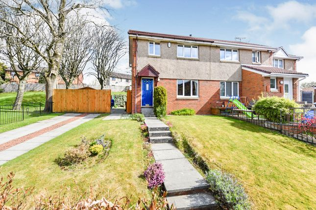Thumbnail Semi-detached house for sale in Foresthall Crescent, Springburn, Glasgow