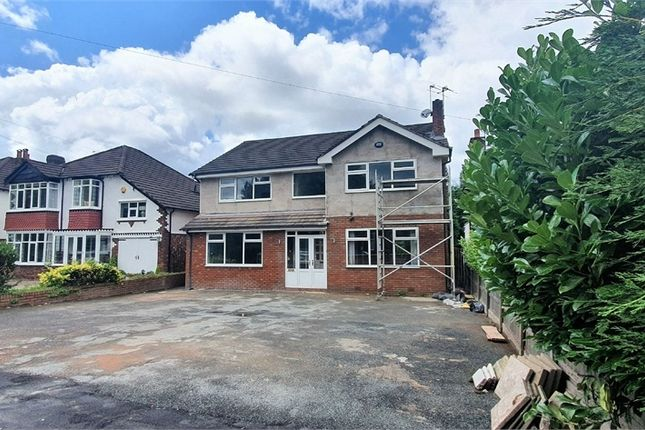 Thumbnail Detached house to rent in Bramhall Lane South, Bramhall, Stockport, Cheshire