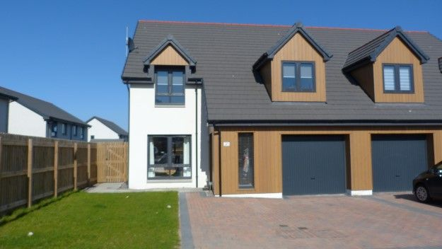 Thumbnail Semi-detached house to rent in 21 Distillery Drive, Elgin
