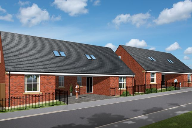 Thumbnail Semi-detached bungalow for sale in Plot 4, Maple Road, Staincross, Barnsley