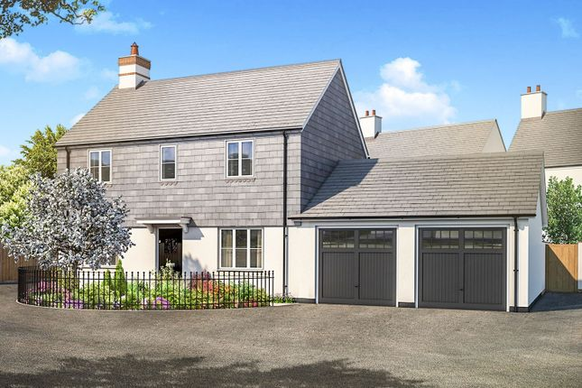 Thumbnail Detached house for sale in Haye Road, Sherford, Plymouth