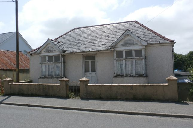 Thumbnail Bungalow for sale in Newcastle Emlyn, Ceredigion
